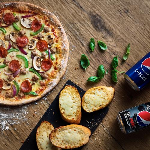 Pizza Hut Delivery 9000 Italiaanse Pizza Amerikaanse Pizza