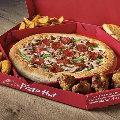 Pizza Hut Delivery Mechelen Italiaanse Pizza Amerikaanse Pizza