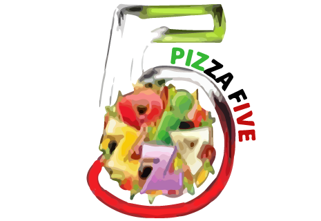 logo Pizza five 5