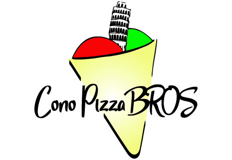 logo Cono Pizza BROS