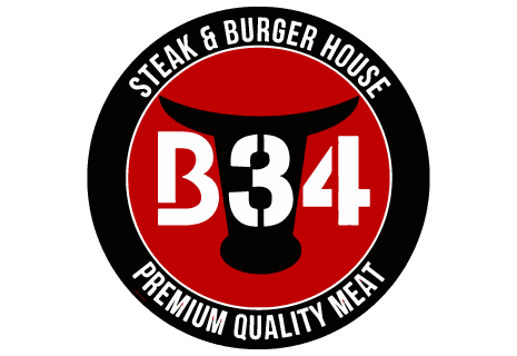 logo B34 Steak & Burger House