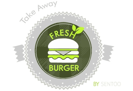 logo Fresh Burger by Sentoo