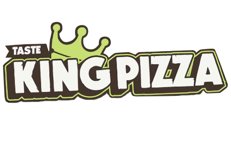 logo Taste King Pizza