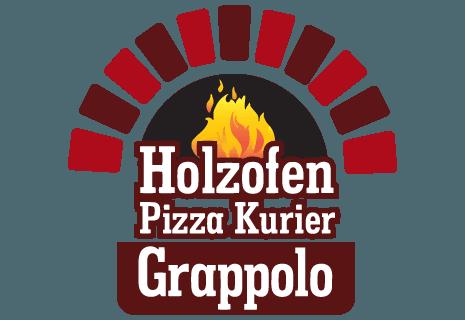 Holzofen Pizza Kurier Grappolo