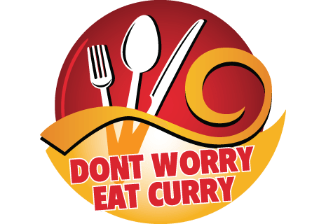 logo Dont Worry Eat Curry