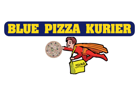 logo Blue Pizza Kurier