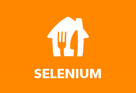 TEST Restaurant Selenium - Pickup