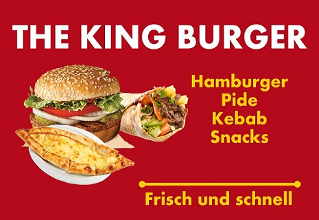logo The King Burger