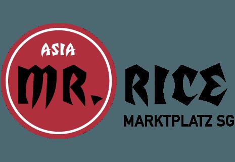 Asia Mr. Rice am Marktplatz