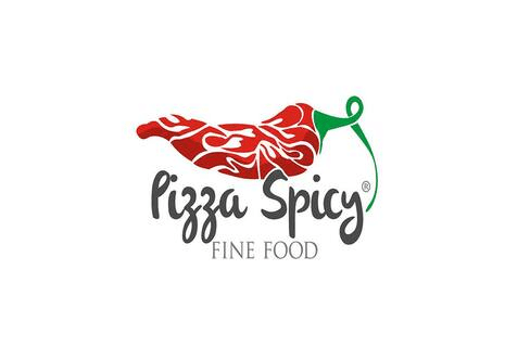 logo Pizza Spicy Fine Food