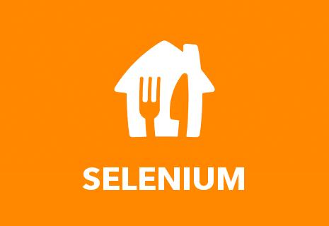 TEST Restaurant Selenium