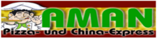 Logo Aman Pizza & China