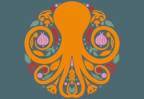 Pizza Orange Octopus