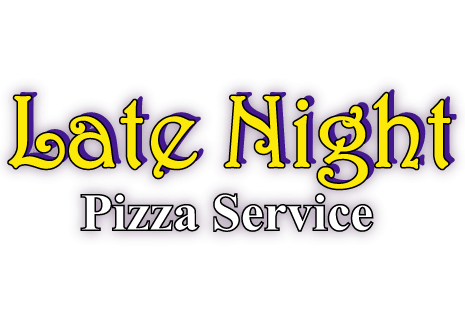 Late Night Pizza Service