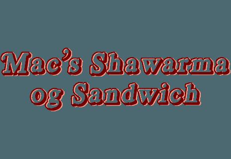 Macs Shawarma og sandwich