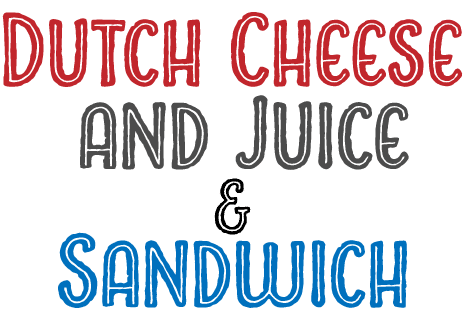 Dutch cheese and juice & Sandwich