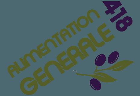 418 ALIMENTATION GENERALE