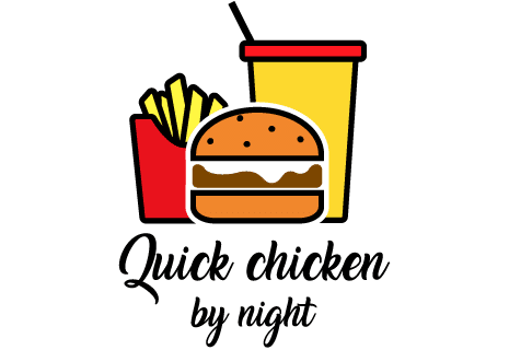 logo Quick chicken by night