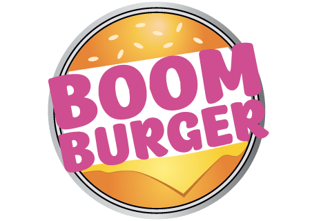logo Boom Burger By Night