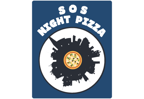 logo SOS Night Pizza