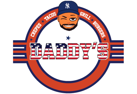 logo Daddy's Crêpes Tacos Burgers & Grill
