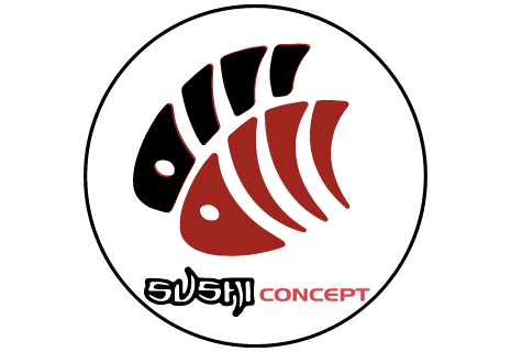 logo Sushi Concept by Night