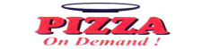 Tasty pizzas from Pizza on Demand!