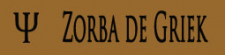 Zorba de Griek logo