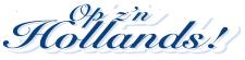 Op z'n Hollands! logo