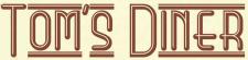 Tom's Diner logo