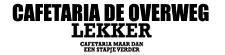 Cafetaria de Overweg logo