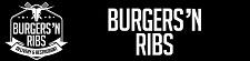 Burgers'n Ribs logo