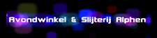 Avondwinkel en Slijterij Goudserijweg logo