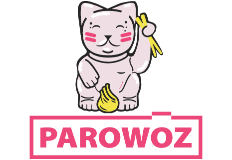 Azjatyckie pierożki na parze Parowóz