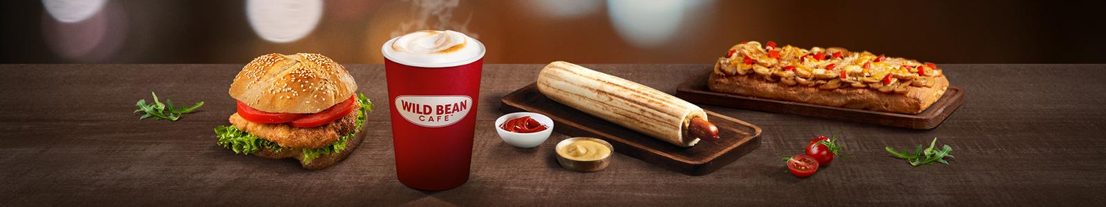 Wild Bean Cafe Zamów z Dostawą